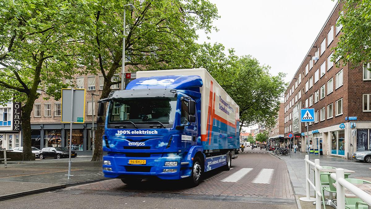 EMOSS_Electric_truck_Rotterdam_Breytner
