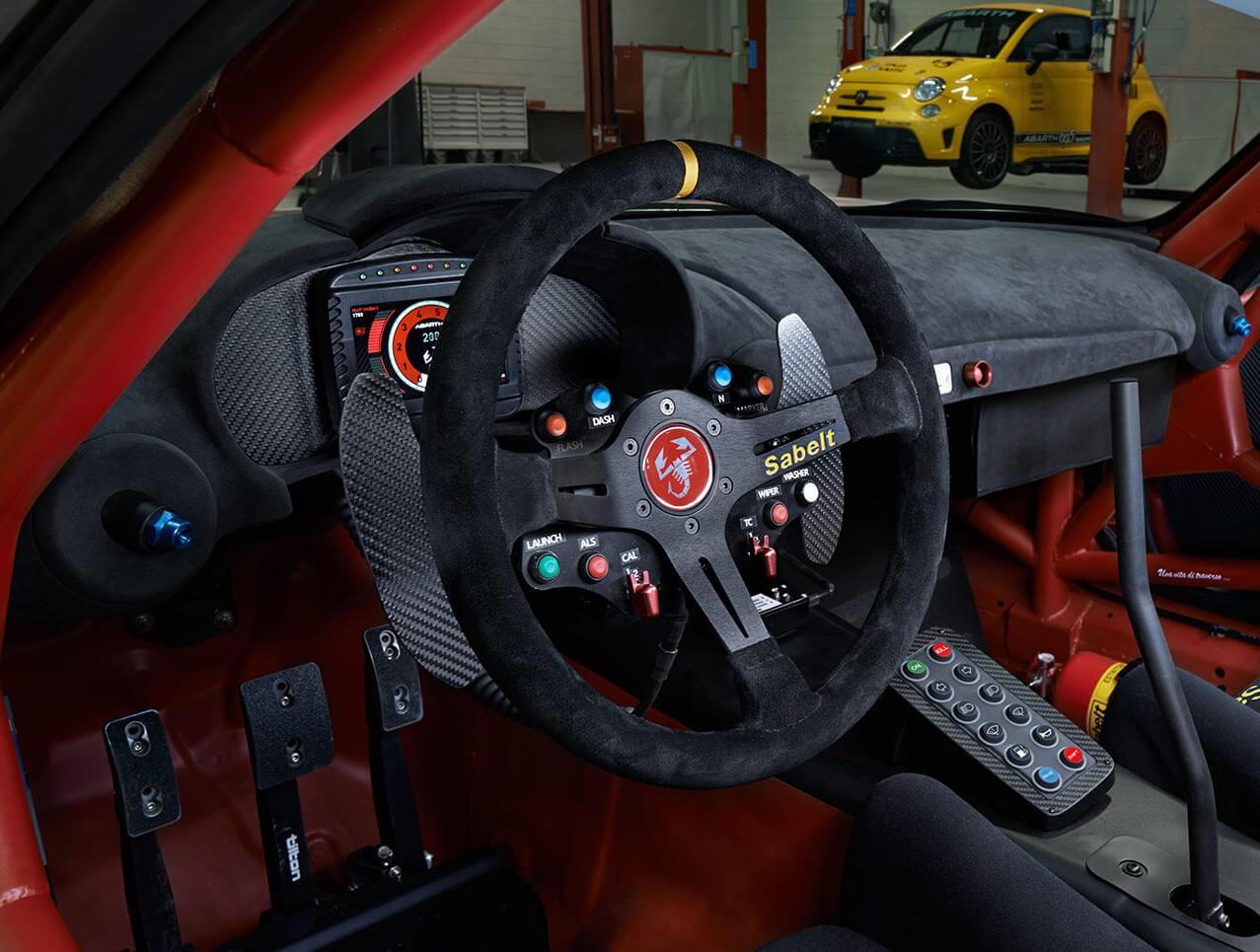 abarth rally auto..